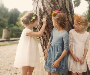 girl, dress, and kids image