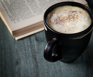 perfect, hot chocolate, and book image