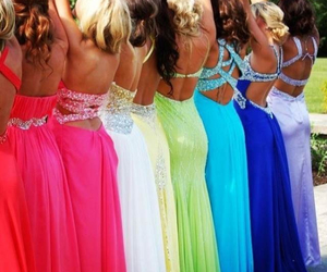 dresses and girls image