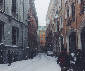 cold, snow, and europe image