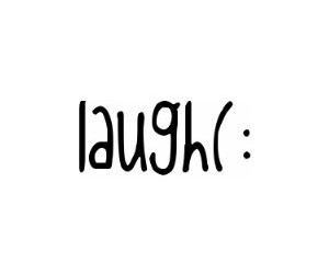 laugh, smile, and :) image