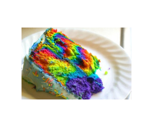 beautiful, cake, and colorful image
