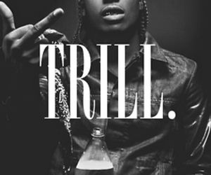 trill, asap rocky, and asap image