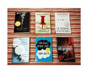 abundance of katherines, john green, and looking for alaska image