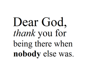 god and thank you image