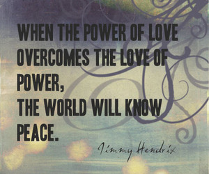 quote, peace, and power image