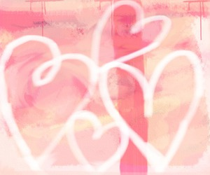 abstract, pink, and cute image