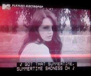 lana del rey, mtv, and summertime sadness image