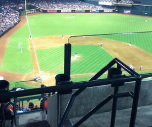 arizona, baseball, and crowd image