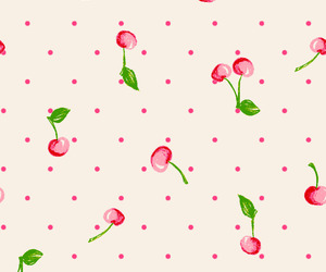 wallpaper, cherry, and cute image