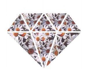 diamond, flowers, and daisy image