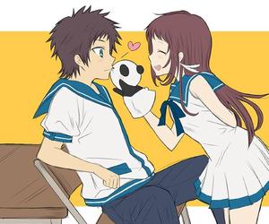 anime, kawaii, and nagi no asukara image