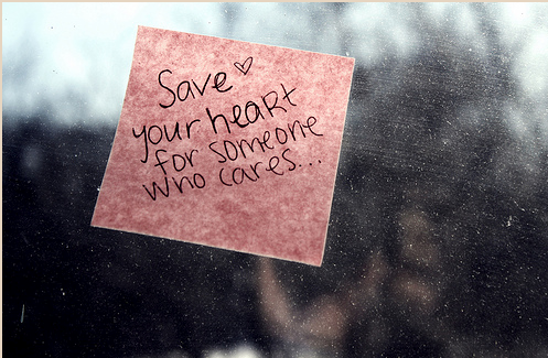 quote via tumblr uploaded by never say never