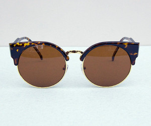 gold, sunglasses, and sunnies image