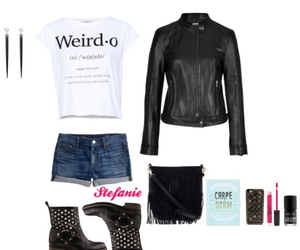 booties, outfit, and Polyvore image