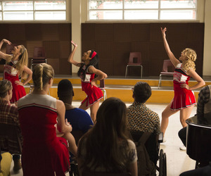 glee, brittany, and Quinn image