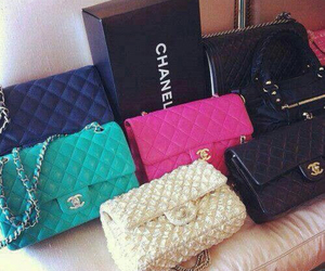 chanel, bag, and colors image
