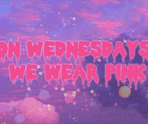 pink, mean girls, and quote image