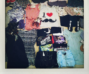 clothes, packing, and forever 21 image