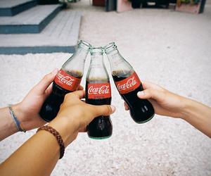 coca-cola, fun, and love image