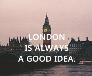 london, idea, and good image