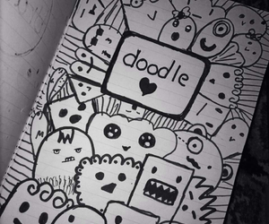 doodle, drawing, and رسمي image
