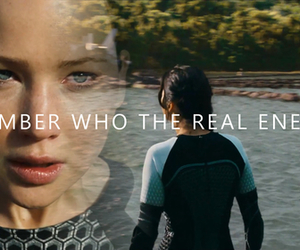 katniss, the hunger games, and catching fire image
