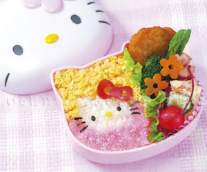 hello kitty, food, and cute image