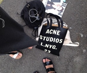 acne, fashion, and black image