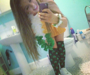 girl, irish, and party image