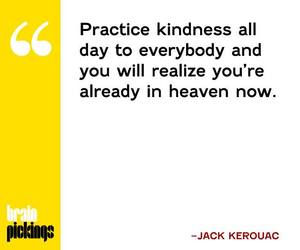 heaven, kindness, and quote image