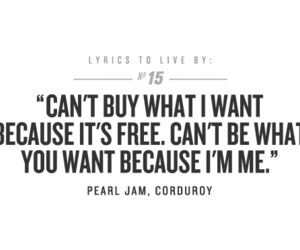 Lyrics, pearl jam, and lyrics to live by image