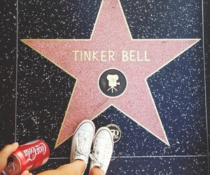 tinker bell, disney, and hollywood image