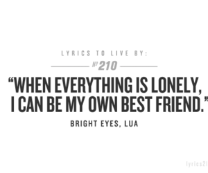 Bright Eyes and lyrics to live by image