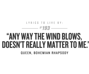 Queen, Lyrics, and bohemian rhapsody image