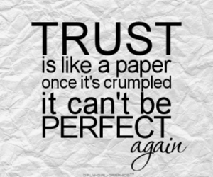 trust, quote, and perfect image