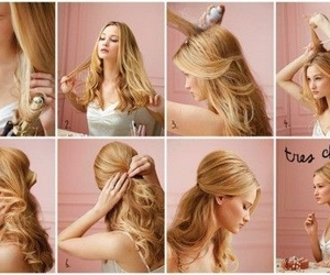 diy, hair, and hairtutorial image