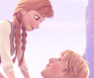 anna, frozen, and love image