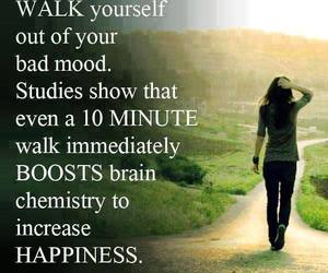 happiness and walk image