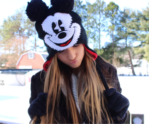winter, mickey mouse, and tumblr image