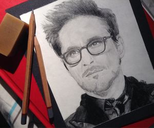 actors, art, and Avengers image
