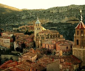 spain, travel, and albarracin image