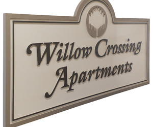 community welcome signs, subdivision signage, and subdivision signs image