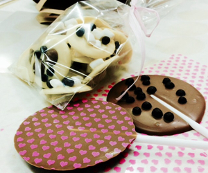 chocolate, decorate, and eat image