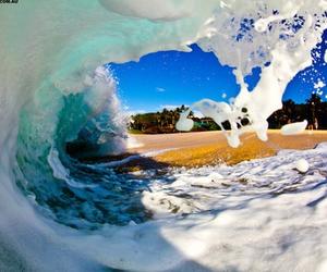 beach, beautiful, and photography image