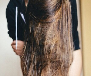 hair, ombre hair, and amazing long hair image