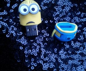 funny, minions, and usb image