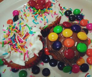 food, cakes, and candy image