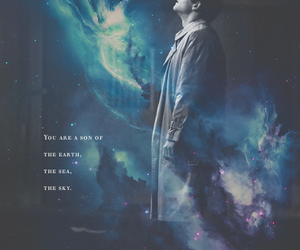 supernatural, castiel, and misha collins image