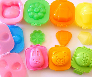 bento, colours, and eggs image